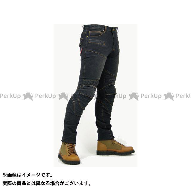 【エントリーで最大P21倍】KOMINE パンツ PK-718 スーパーフィットケブラーデニムジーンズ カラー:ブラック サイズ:4XLB/44 コミネ