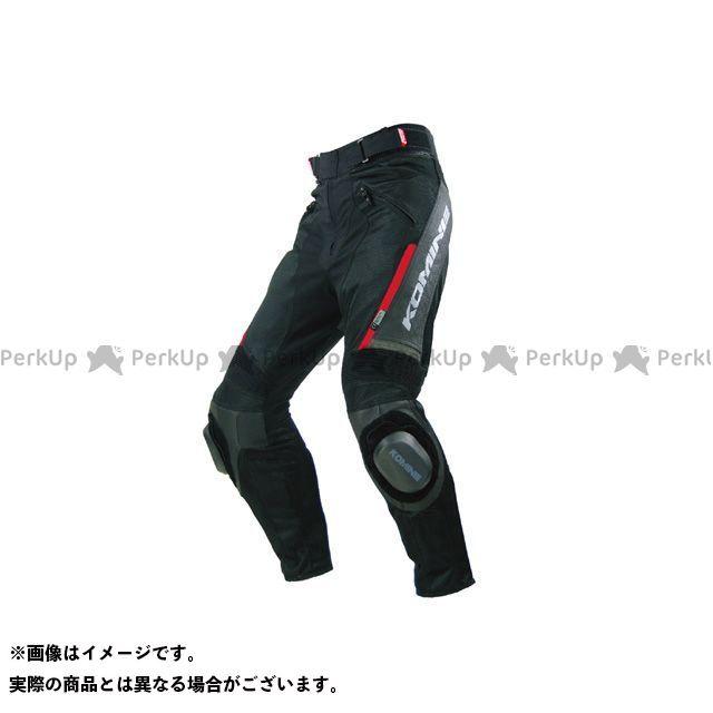 KOMINE パンツ PK-717 スポーツライディングレザーメッシュパンツ カラー:ブラック サイズ:L コミネ