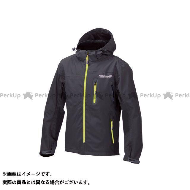 KOMINE カジュアルウェア JK-555 WPプロテクション3L-パーカ レディース カラー:ブラック/ネオン サイズ:3XL コミネ