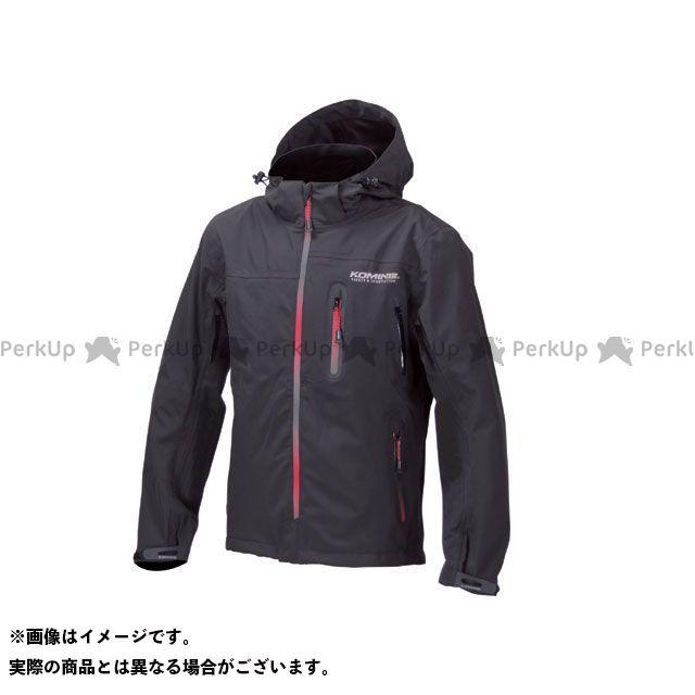 KOMINE カジュアルウェア JK-555 WPプロテクション3L-パーカ レディース カラー:ブラック/グラデーションレッド サイズ:M コミネ