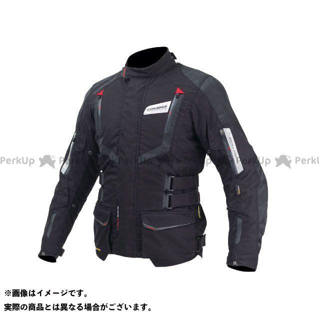 KOMINE ジャケット JK-572 フルイヤージャケット-ガリア カラー:ブラック/レッド サイズ:M コミネ