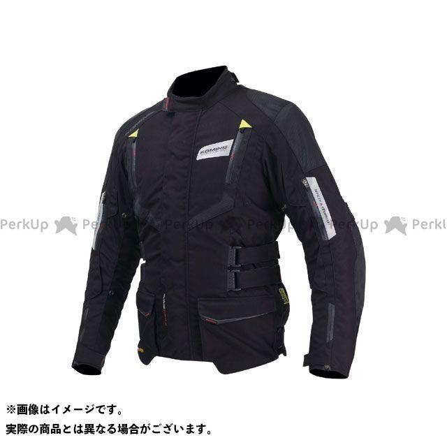 KOMINE ジャケット JK-572 フルイヤージャケット-ガリア カラー:ブラック/ネオン サイズ:M コミネ