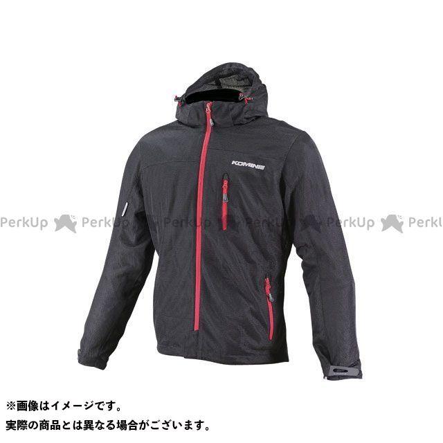 KOMINE ジャケット JK-087 プロテクトライディングメッシュパーカ カラー:ブラック/レッド サイズ:WM コミネ