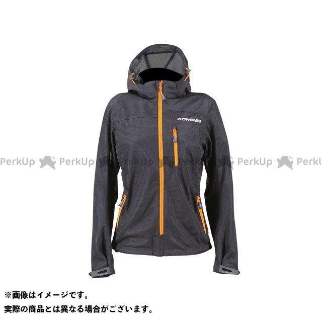 KOMINE ジャケット JK-087 プロテクトライディングメッシュパーカ カラー:ブラック/オレンジ サイズ:WM コミネ