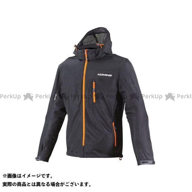 KOMINE ジャケット JK-087 プロテクトライディングメッシュパーカ カラー:ブラック/オレンジ サイズ:M コミネ