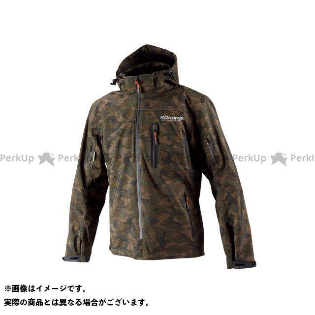 【特価品】KOMINE カジュアルウェア JK-555 WPプロテクション3L-パーカ レディース(カモフラージュ) サイズ:2XL コミネ