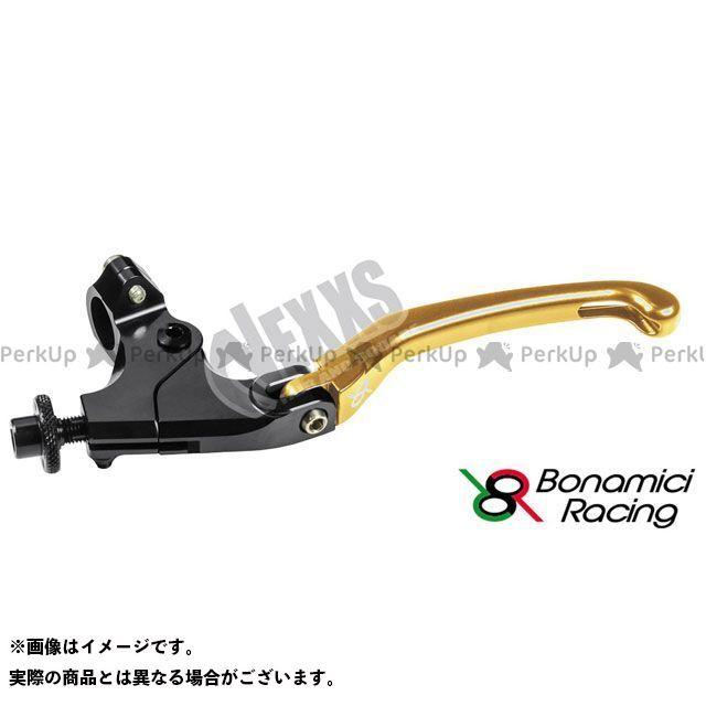 ボナミーチレーシング Bonamici Racing 引出物 レバー ハンドル 期間限定の激安セール ゴールド 汎用クラッチレバーキット 32mm ハンドル径22.2用クランプ付 汎用