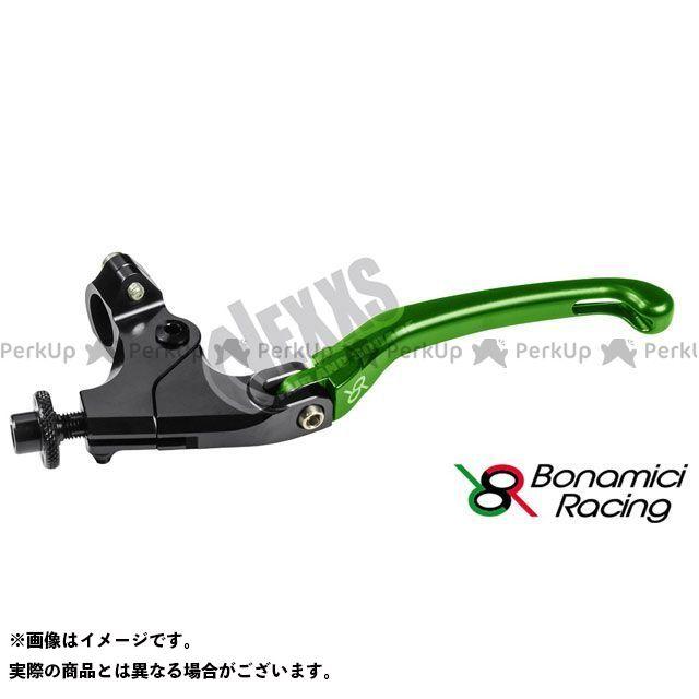 お買い得品 ボナミーチレーシング Bonamici Racing レバー ハンドル 汎用 汎用クラッチレバーキット グリーン ハンドル径22.2用クランプ付 32mm 評価