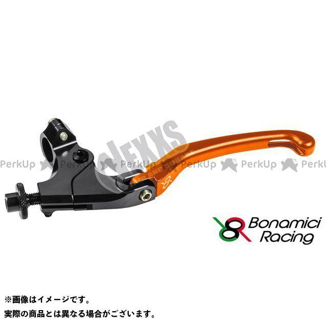 ボナミーチレーシング お値打ち価格で セール開催中最短即日発送 Bonamici Racing レバー ハンドル 汎用クラッチレバーキット オレンジ ハンドル径22.2用クランプ付 34mm 汎用