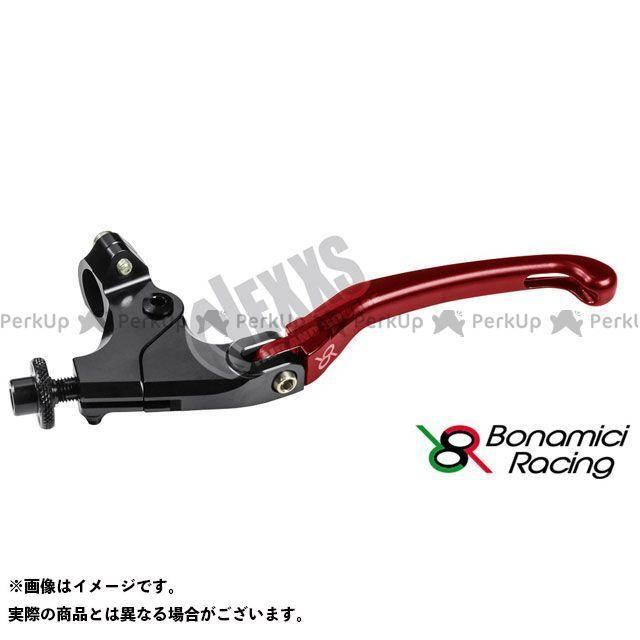 ボナミーチレーシング Bonamici Racing おすすめ メーカー在庫限り品 レバー ハンドル 汎用クラッチレバーキット 汎用 ハンドル径22.2用クランプ付 34mm レッド