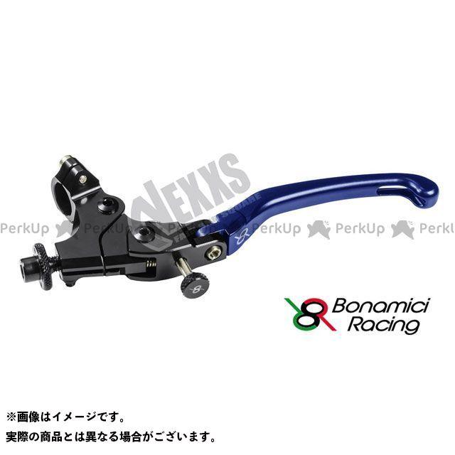 ボナミーチレーシング Bonamici Racing レバー ハンドル 汎用 OFF 大幅にプライスダウン SET セール ブルー LCFR 24mm ADJUSTABLE
