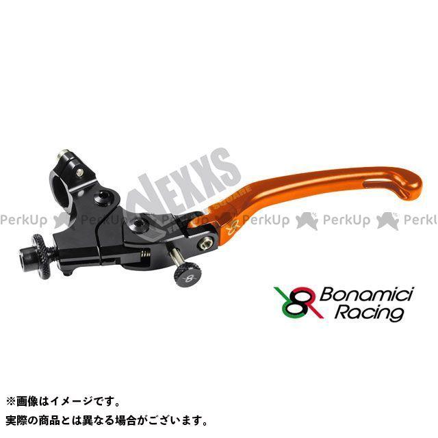 ボナミーチレーシング Bonamici Racing レバー ハンドル 汎用 即出荷 ADJUSTABLE OFF オレンジ SET LCFR 激安格安割引情報満載 24mm
