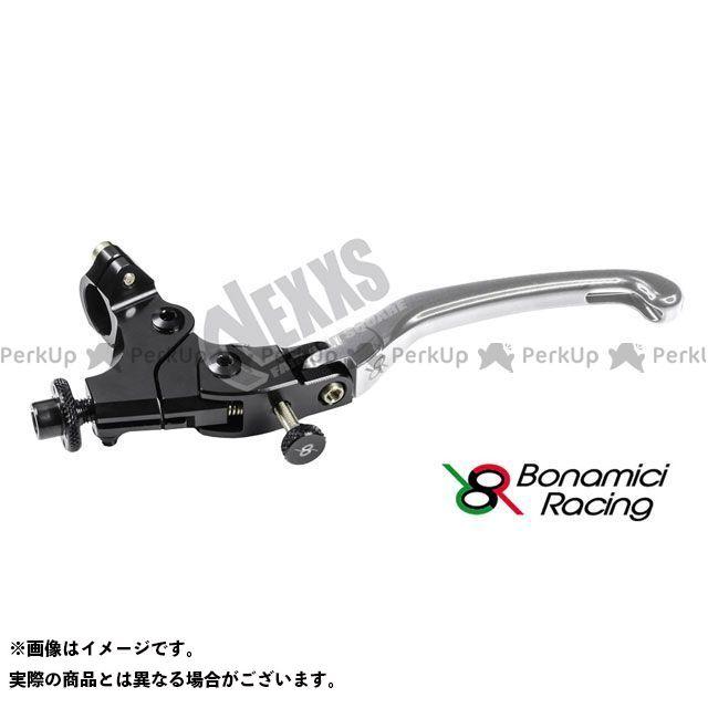 ボナミーチレーシング Bonamici Racing レバー 5☆好評 ハンドル 汎用 SET シルバー ADJUSTABLE 24mm OFF 100%品質保証 LCFR