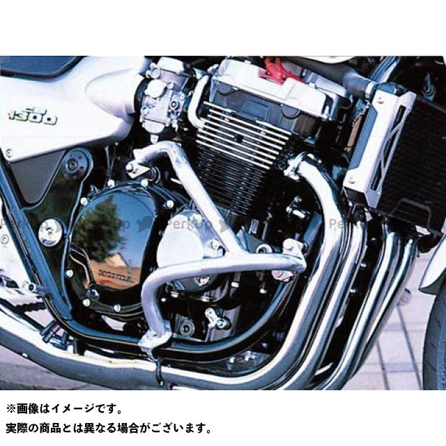 GOLD MEDAL CB1300スーパーフォア(CB1300SF) エンジンガード スラッシュガード サブフレーム付 カラー:ブルー ゴールドメダル