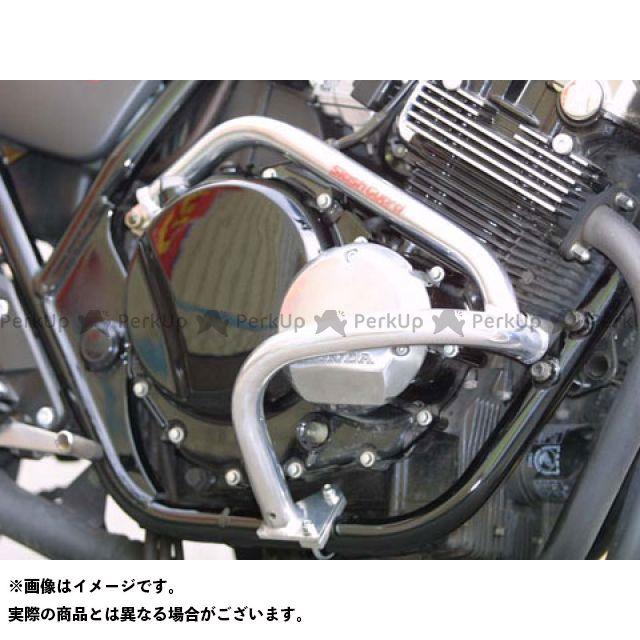 GOLD MEDAL CB400スーパーフォア(CB400SF) エンジンガード スラッシュガード バフ仕上げ ゴールドメダル