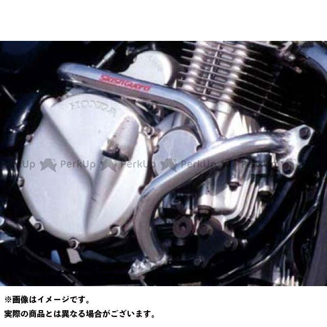 GOLD MEDAL CB750 エンジンガード スラッシュガード ブラック