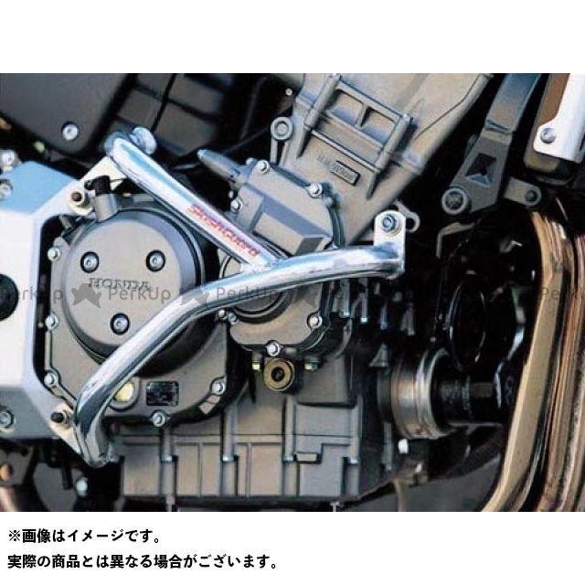 GOLD MEDAL CB900ホーネット エンジンガード スラッシュガード サブフレーム付 カラー:パープル ゴールドメダル