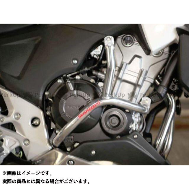 GOLD MEDAL 400X エンジンガード スラッシュガード スタンダードタイプ パープル ゴールドメダル