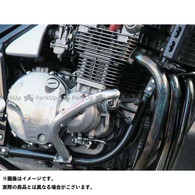 GOLD MEDAL ゼファー1100 エンジンガード スラッシュガード レッド ゴールドメダル