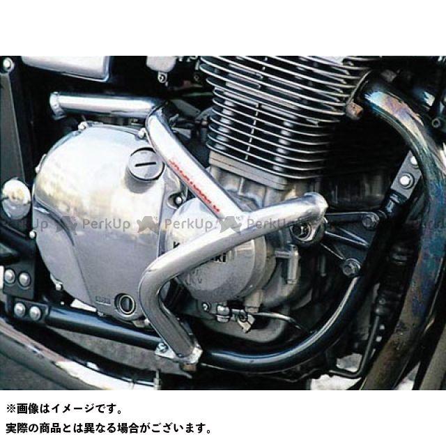 GOLD MEDAL ゼファー1100 エンジンガード スラッシュガード サブフレーム付 カラー:レッド ゴールドメダル