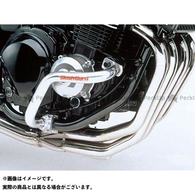 GOLD MEDAL ZRX400 エンジンガード スラッシュガード シャンパンゴールド ゴールドメダル