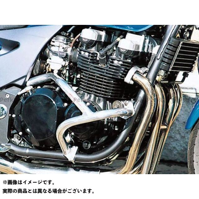 ゴールドメダル GOLD MEDAL エンジンガード フレーム GOLD MEDAL ZR-7 エンジンガード スラッシュガード サブフレーム付 バフ仕上げ ゴールドメダル