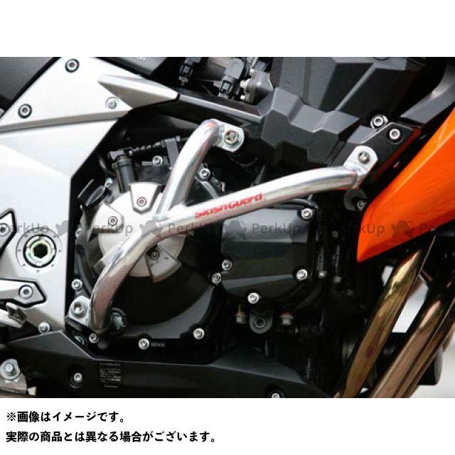 GOLD MEDAL Z1000 エンジンガード スラッシュガード サブフレームタイプ ブラック