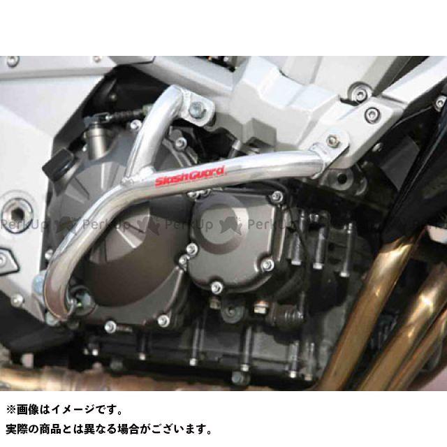 GOLD MEDAL Z750 エンジンガード スラッシュガード サブフレームタイプ カラー:レッド ゴールドメダル