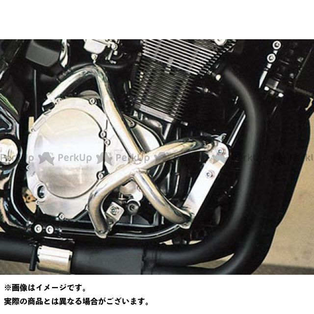 GOLD MEDAL GS1200SS エンジンガード スラッシュガード スタンダードタイプ ブルー ゴールドメダル