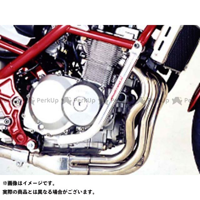GOLD MEDAL バンディット400 エンジンガード スラッシュガード スタンダードタイプ カラー:バフ仕上げ ゴールドメダル