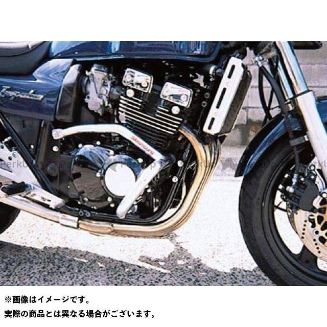 GOLD MEDAL GSX400インパルス エンジンガード スラッシュガード サブフレームタイプ ブラック