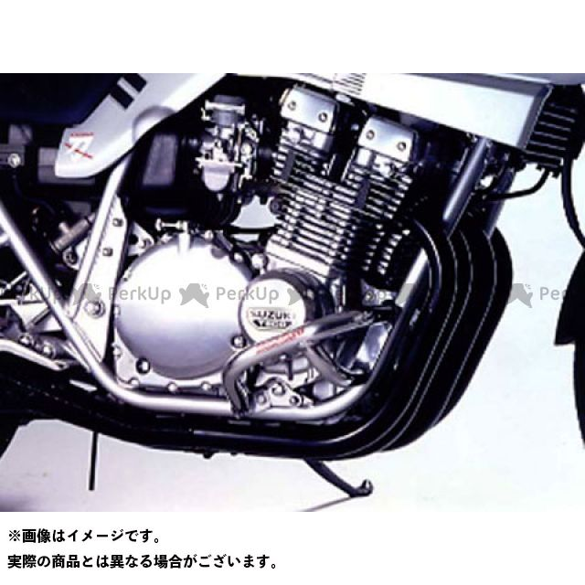 GOLD MEDAL GSX1100Sカタナ エンジンガード スラッシュガード スタンダードタイプ カラー:ブルー ゴールドメダル
