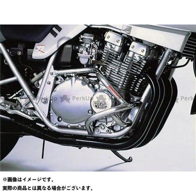 GOLD MEDAL GSX1100Sカタナ エンジンガード スラッシュガード サブフレームタイプ カラー:シャンパンゴールド ゴールドメダル
