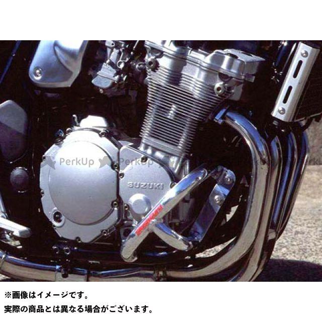 GOLD MEDAL GSF750 エンジンガード スラッシュガード サブフレーム付き レッド