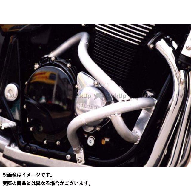 GOLD MEDAL GSX1400 エンジンガード スラッシュガード サブフレームタイプ カラー:シャンパンゴールド ゴールドメダル