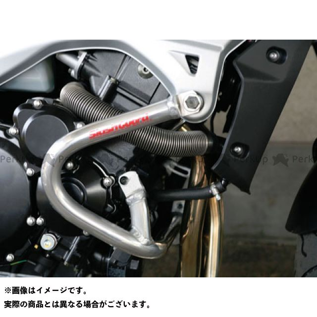GOLD MEDAL GSR400 GSR600 エンジンガード スラッシュガード サブフレームタイプ カラー:シャンパンゴールド ゴールドメダル