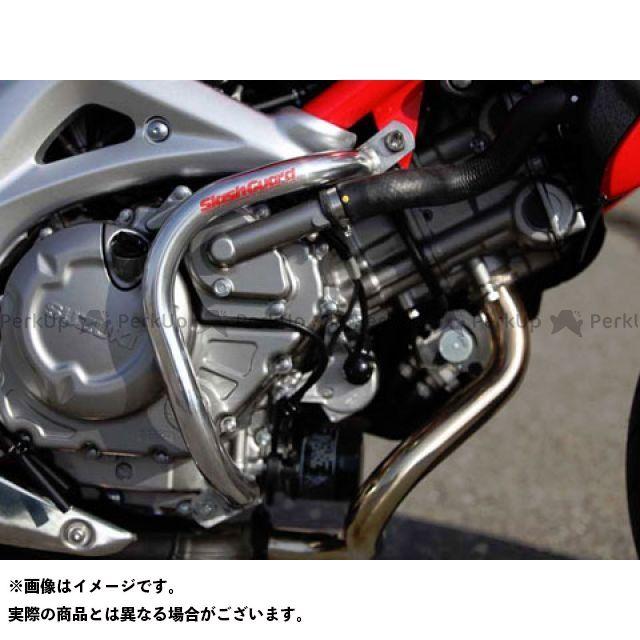 【無料雑誌付き】GOLD MEDAL グラディウス650 エンジンガード スラッシュガード カラー:ブルー ゴールドメダル