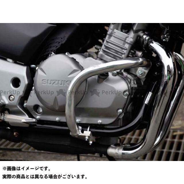 GOLD MEDAL GSR250 GSR400 エンジンガード スラッシュガード スタンダードタイプ ブラック ゴールドメダル