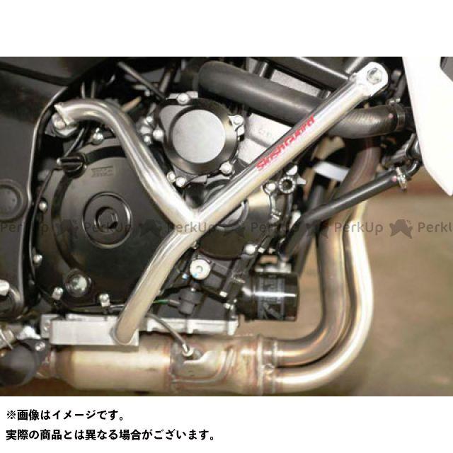 GOLD MEDAL GSR750 エンジンガード スラッシュガード スタンダードタイプ ブラック ゴールドメダル