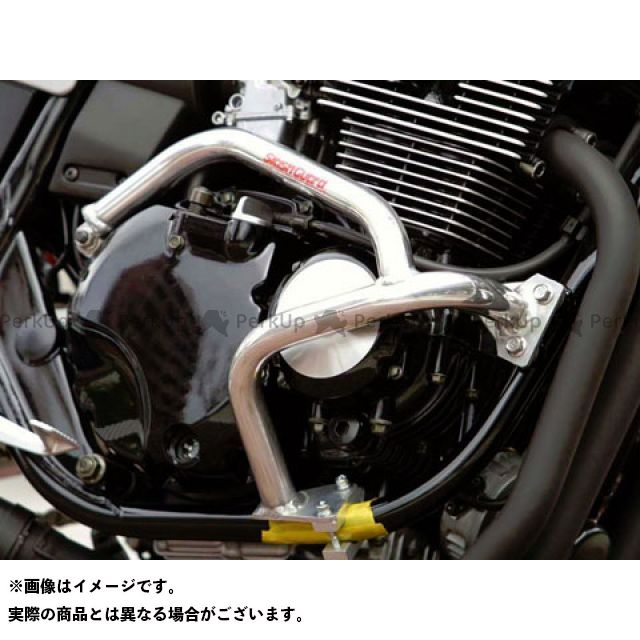 GOLD MEDAL XJR400 XJR400R エンジンガード スラッシュガード サブフレームタイプ ブルー ゴールドメダル