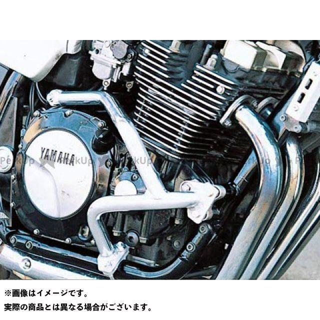 GOLD MEDAL XJR1200 XJR1300 エンジンガード スラッシュガード サブフレームタイプ ブルー