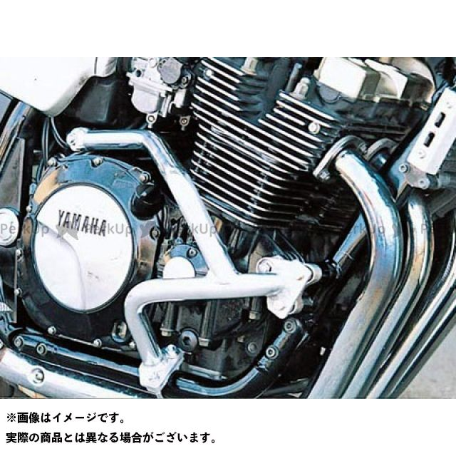 GOLD MEDAL XJR1200 XJR1300 エンジンガード スラッシュガード サブフレームタイプ ブラック