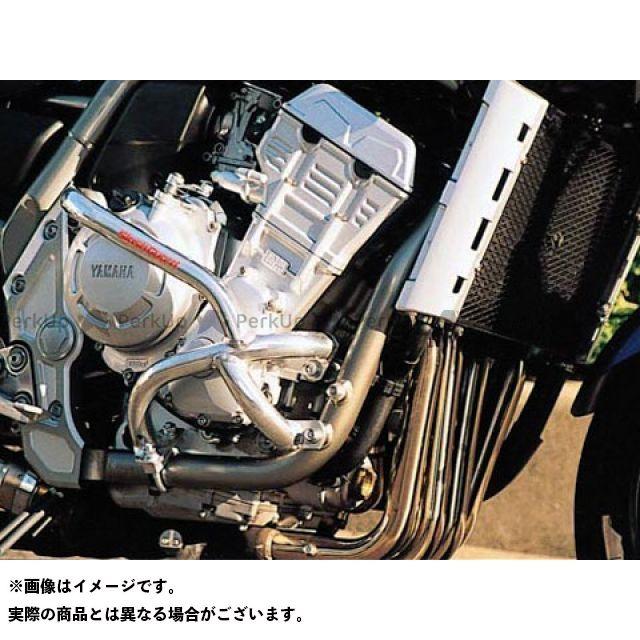 GOLD MEDAL FZS1000フェザー エンジンガード スラッシュガード サブフレームタイプ カラー:レッド ゴールドメダル