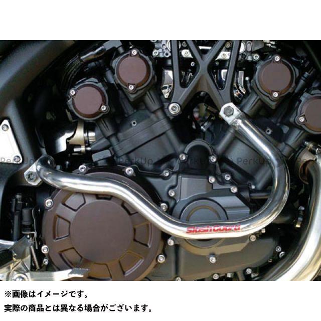 GOLD MEDAL VMAX エンジンガード スラッシュガード スタンダードタイプ カラー:レッド ゴールドメダル
