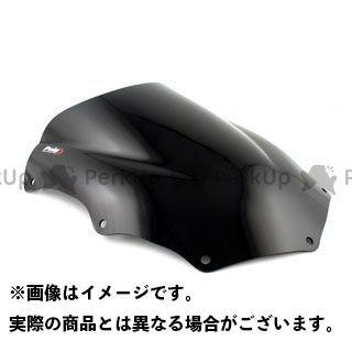 【エントリーで更にP5倍】Puig GSX-R600 GSX-R750 スクリーン関連パーツ レーシングスクリーン カラー:ブラック プーチ