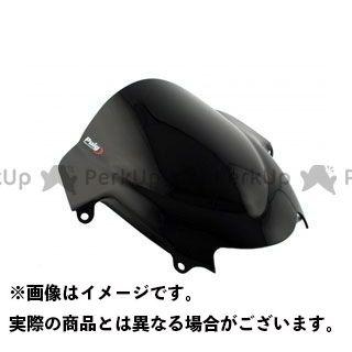【エントリーで更にP5倍】Puig バンディット1200S バンディット1250S バンディット650S スクリーン関連パーツ レーシングスクリーン カラー:ブラック プーチ