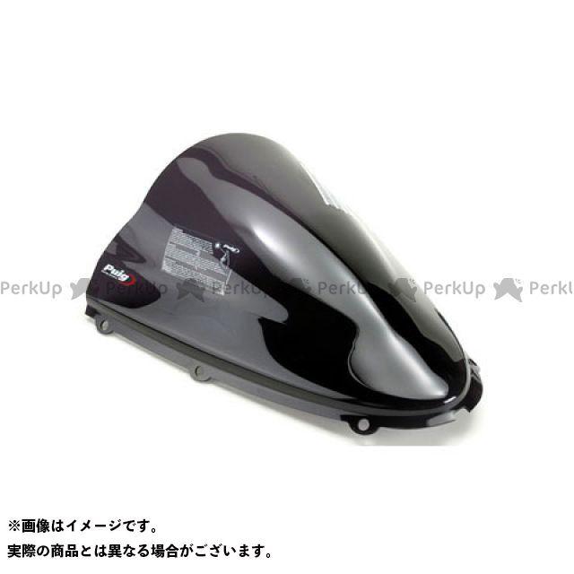 【エントリーで更にP5倍】Puig ZZR1400 スクリーン関連パーツ レーシングスクリーン カラー:ダークスモーク プーチ