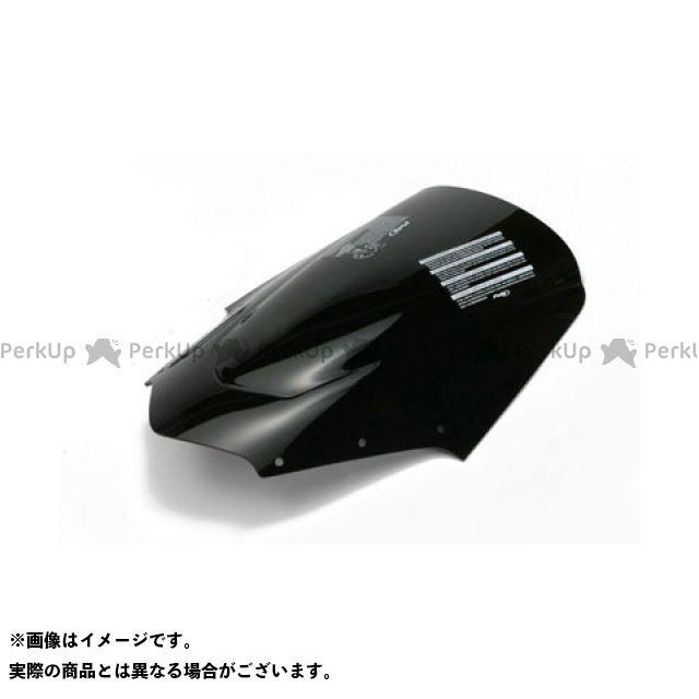 【エントリーでポイント10倍】 プーチ FZ1フェザー(FZ-1S) スクリーン関連パーツ レーシングスクリーン ブラック