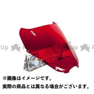 【エントリーでポイント10倍】 プーチ GT 250R GT 650R GT 650S スクリーン関連パーツ レーシングスクリーン レッド