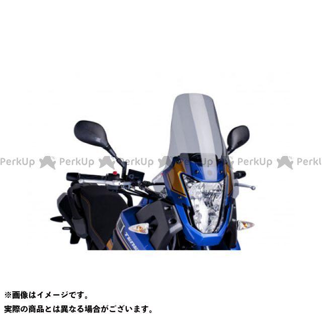 【エントリーで更にP5倍】Puig XTZ660テネレ スクリーン関連パーツ ツーリングスクリーン カラー:スモーク プーチ